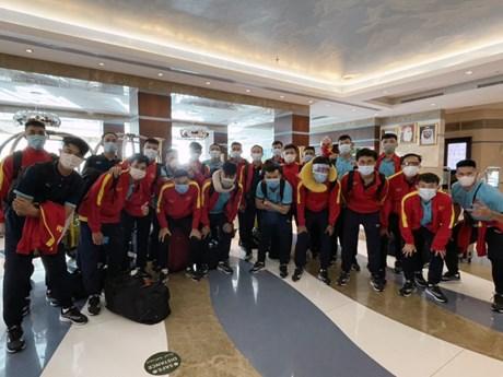 Tuyển futsal Việt Nam đã tới UAE để đá play-off tranh vé dự World Cup
