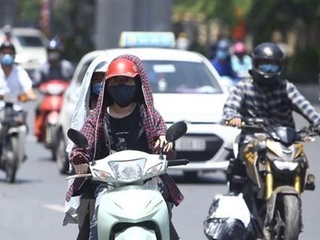 Bắc Bộ, Trung Bộ nắng nóng gia tăng, Nam Bộ chiều tối mưa dông