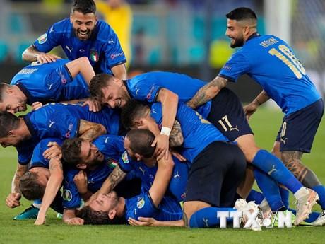 Kết quả EURO: Italy sớm đi tiếp, Xứ Wales đặt 1 chân vào vòng 1/8