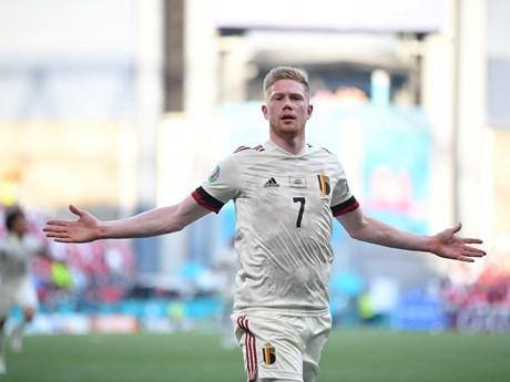 Kevin De Bruyne tỏa sáng đưa tuyển Bỉ vào vòng 1/8 EURO 2020