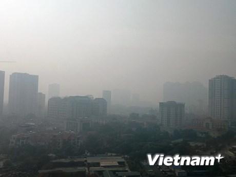 Bộ Xây dựng 'hiến kế' giải pháp hạn chế ô nhiễm không khí đô thị | Xã hội | Vietnam+ (VietnamPlus)