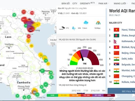 Chất lượng không khí tới ngưỡng 'nâu': Cảnh báo khẩn cấp về sức khỏe