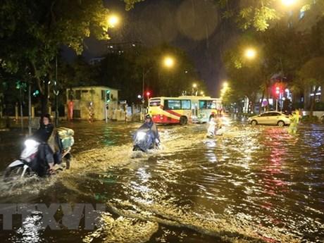 Hà Nội vẫn còn 12 điểm nguy cơ ngập úng cao ở khu vực nội thành