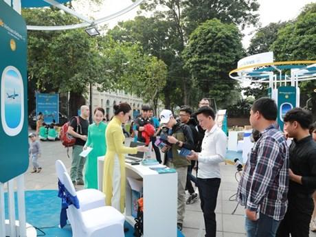 Vietnam Airlines Festa thu hút đông đảo người dân thủ đô dịp cuối tuần