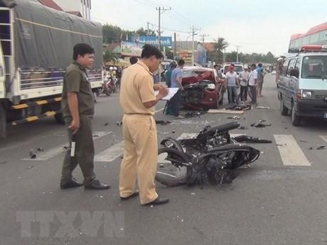 Cả nước có 21 người tử vong vì tai nạn giao thông trong ngày 28 Tết