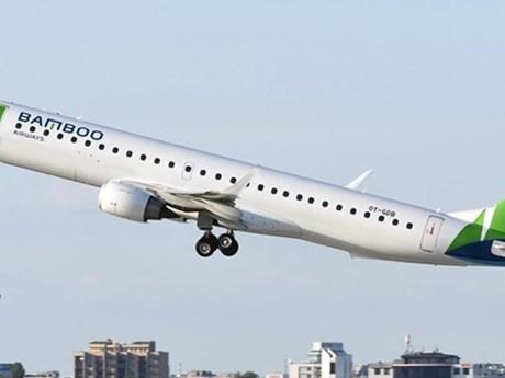 Máy bay Bamboo Airways dùng để bay thẳng tới Côn Đảo đã về Việt Nam