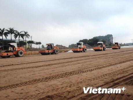 Cao tốc Bắc-Nam đoạn Mai Sơn-Quốc lộ 45 thi công xuyên dịp 30/4