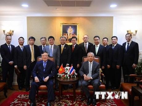 Việt Nam mong muốn Thái Lan chia sẻ kinh nghiệm cải cách tư pháp