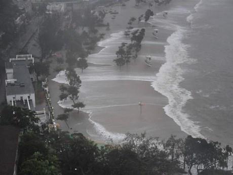 [Video] Sức tàn phá kinh hoàng của trận siêu bão Mangkhut