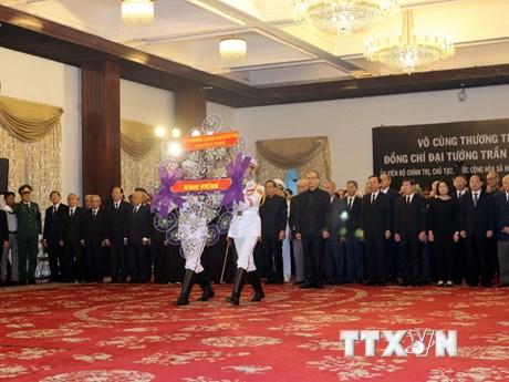 [Photo] Lễ viếng Chủ tịch nước Trần Đại Quang tại TP Hồ Chí Minh