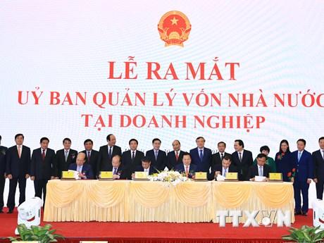Chính thức ra mắt Ủy ban Quản lý vốn nhà nước tại doanh nghiệp