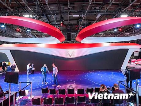 [Photo] Hé lộ sân khấu VinFast tại Paris Motorshow trước giờ G