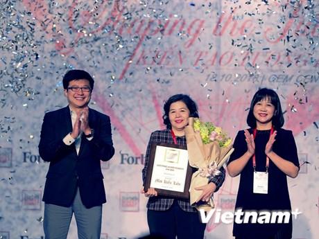 Người phụ nữ được Forbes Việt Nam vinh danh ''Thành tựu trọn đời