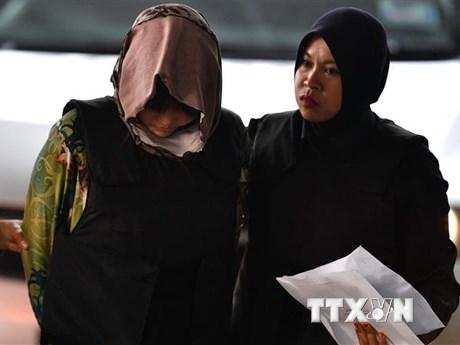 Tòa án Malaysia lùi lịch đối chất với nghi phạm Đoàn Thị Hương