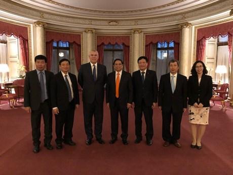 Thúc đẩy quan hệ Đối tác Chiến lược Việt-Anh hiệu quả ở mọi lĩnh vực