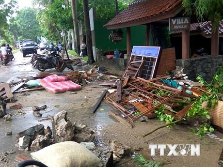 [Photo] Indonesia tan hoang sau trận sóng thần hủy diệt