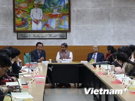 Sinh viên hai nước Việt Nam và Ấn Độ đẩy mạnh giao lưu học thuật