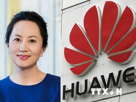 Giám đốc tài chính Huawei Mạnh Vãn Chu trình diện tại tòa án Canada | Công nghệ | Vietnam+ (VietnamPlus)