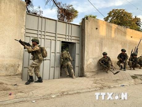 Thổ Nhĩ Kỳ tuyên bố không cần thiết khởi động lại chiến dịch tại Syria | Trung Đông | Vietnam+ (VietnamPlus)