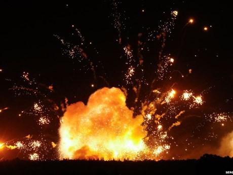 Nổ kho vũ khí tại Thổ Nhĩ Kỳ khiến 16 quân nhân bị thương