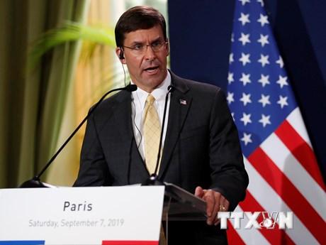 Bộ trưởng Quốc phòng Mỹ bác khả năng điều thêm quân tới Trung Đông | Châu Mỹ | Vietnam+ (VietnamPlus)