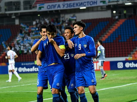 U23 Uzbekistan giành chiến thắng - dấu chấm hết cho U23 UAE | Bóng đá | Vietnam+ (VietnamPlus)