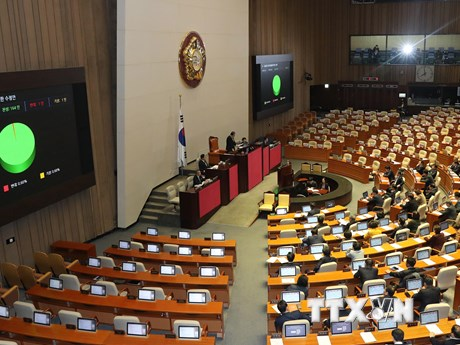 Quốc hội Hàn Quốc hoãn họp vì một người nhiễm virus SARS-CoV-2
