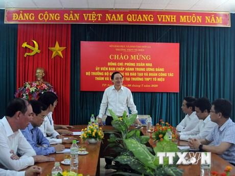 Sơn La chuẩn bị cho kỳ thi tốt nghiệp THPT 2020 an toàn, nghiêm túc | Giáo dục | Vietnam+ (VietnamPlus)
