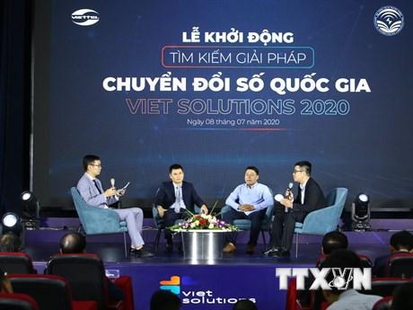 Tìm giải pháp chuyển đổi số vì Việt Nam hùng cường, thịnh vượng | Công nghệ | Vietnam+ (VietnamPlus)