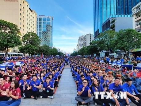 Tuổi trẻ Thành phố Hồ Chí Minh chung tay thắp lửa Hè tình nguyện