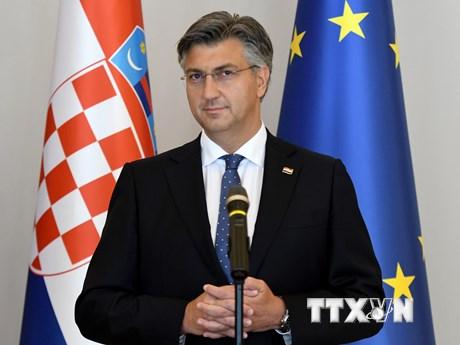 Ông Andrej Plenkovic được bổ nhiệm làm Thủ tướng Croatia