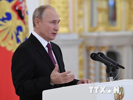 Tổng thống Putin: Toàn bộ nước Nga chuyển sang số hóa trong 10 năm tới