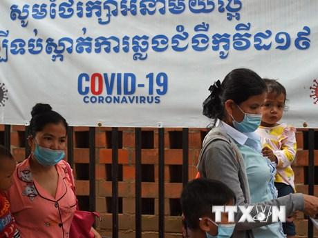 Dịch COVID-19 lây lan nghiêm trọng, Campuchia ra thông điệp khẩn - mega 645