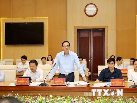 Kiểm tra công tác chuẩn bị bầu cử Quốc hội và HĐND tại Phú Thọ