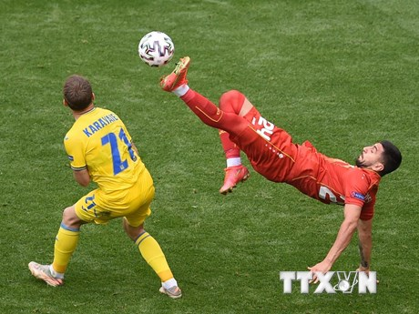 EURO 2020: Chiến thắng sít sao của Ukraine trước Bắc Macedonia - mega 645