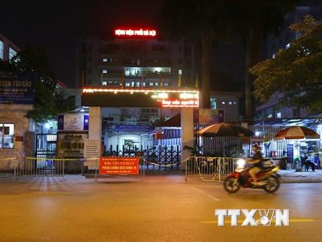 Phong tỏa Bệnh viện Phổi Hà Nội sau khi phát hiện 9 ca mắc COVID-19