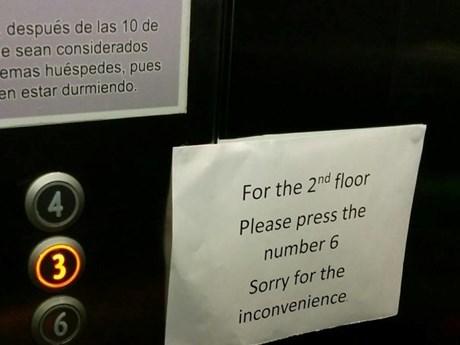 Dở khóc dở cười với những lỗi ngớ ngẩn trong các khách sạn