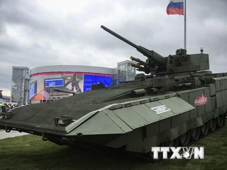 [Photo] Nga phô trương nhiều khí tài quân sự tối tân ở Army-2018