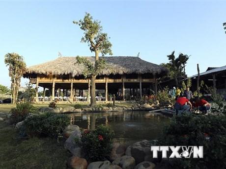[Photo] Điện Biên chính thức khai trương homestay Mường Then