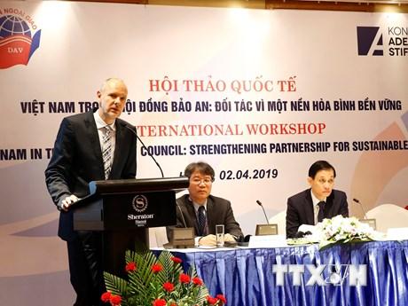 Việt Nam trong Hội đồng Bảo an: Đối tác vì nền hòa bình bền vững | Chính trị | Vietnam+ (VietnamPlus)