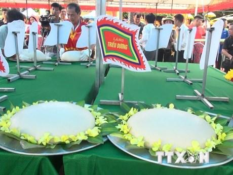Thanh Hóa: Đặc sắc Lễ hội bánh chưng, bánh giày truyền thống
