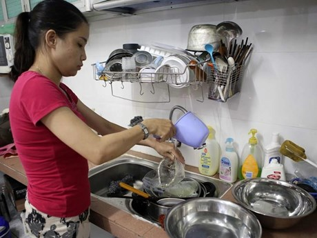 Đà Nẵng: Thủy điện xả nước, sông Cầu Đỏ đã bớt nhiễm mặn