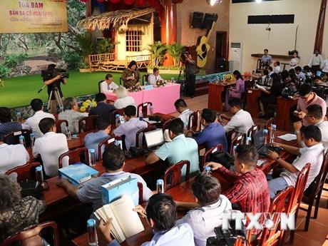 Tọa đàm về bản Dạ cổ hoài lang dưới góc nhìn người làm báo   Âm nhạc   Vietnam+ (VietnamPlus)