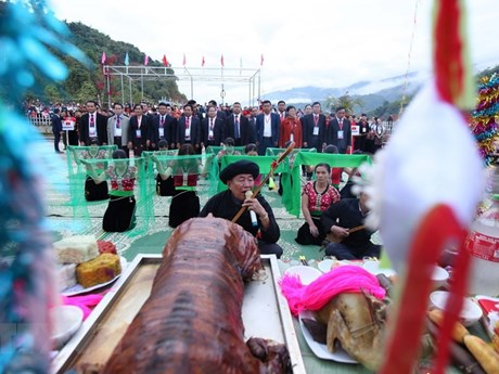 Phục dựng 7 lễ hội dân tộc: Bảo tồn, phát huy di sản văn dân tộc    Lễ hội   Vietnam+ (VietnamPlus)