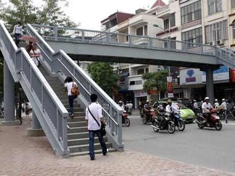Nhiều giải pháp phát huy hiệu quả của hầm và cầu vượt bộ hành | Giao thông | Vietnam+ (VietnamPlus)
