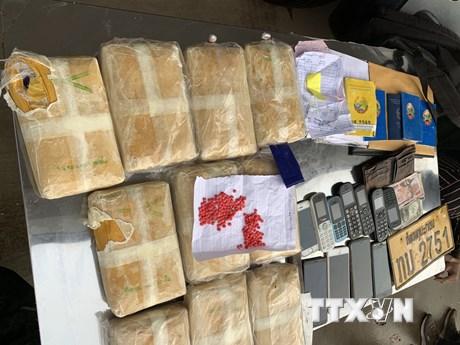 Triệt phá đường dây vận chuyển số lượng lớn ma túy từ Lào vào Việt Nam