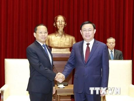 Hà Nội đẩy mạnh hợp tác, đầu tư với các địa phương của Campuchia