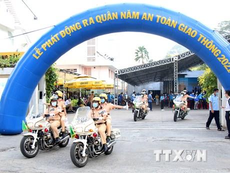 Thành phố Hồ Chí Minh nỗ lực giảm 5-10% tai nạn giao thông năm 2021