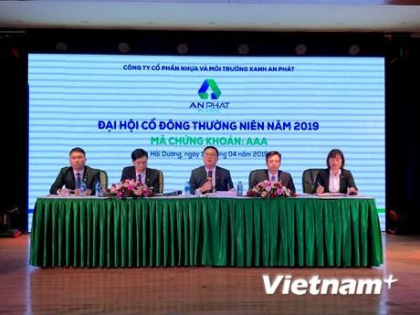 Năm 2019, AAA đặt mục tiêu lợi nhuận sau thuế 510 tỷ đồng | Chứng khoán | Vietnam+ (VietnamPlus) - aaa