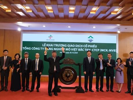 105 triệu cổ phiếu của Tổng công ty mỏ Việt Bắc lên sàn HNX